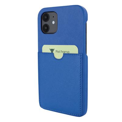 Piel Frama iPhone 12 mini FramaSlimgrip Leather Case - Blue