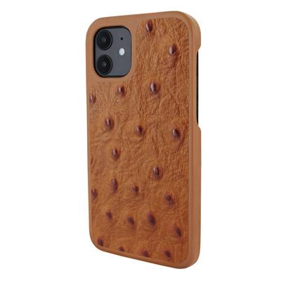 Piel Frama iPhone 12 mini LuxInlay Leather Case - Ostrich Tan