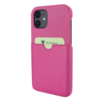 Piel Frama iPhone 12 mini FramaSlimgrip Leather Case - Pink