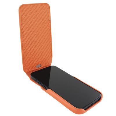 Piel Frama iPhone 12 mini iMagnum Leather Case - Orange