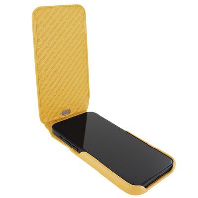 Piel Frama iPhone 12 mini iMagnum Leather Case - Yellow