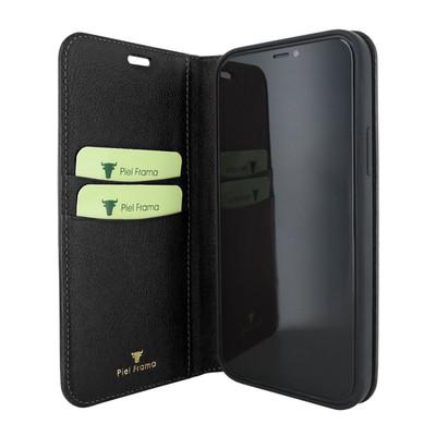 Piel Frama iPhone 12 mini FramaSlimCards Leather Case - Black