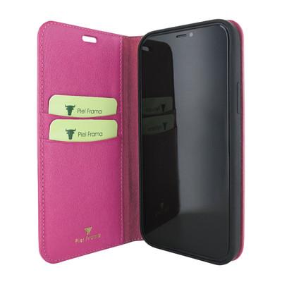 Piel Frama iPhone 12 mini FramaSlimCards Leather Case - Pink