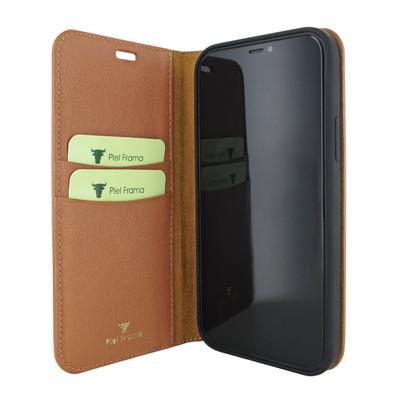 Piel Frama iPhone 12 mini FramaSlimCards Leather Case - Tan