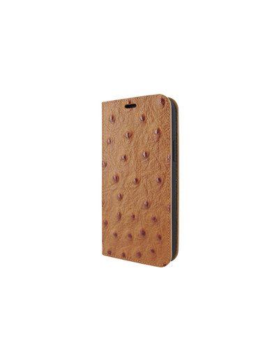 Piel Frama iPhone 12 Pro Max FramaSlimCards Leather Case - Tan Ostrich