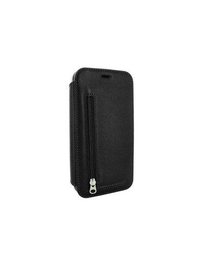 Piel Frama iPhone 12 Pro Max PocketSlim Leather Case - Black