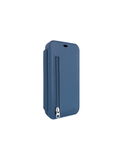 Piel Frama iPhone 12 Pro Max PocketSlim Leather Case - Blue