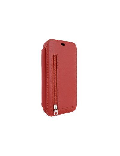 Piel Frama iPhone 12 | 12 Pro PocketSlim Leather Case - Red