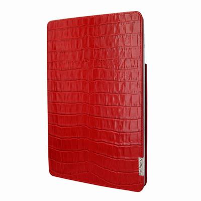 Piel Frama iPad Air 2019 | iPad 10.2 2019 FramaSlim Leather Case - Red Crocodile