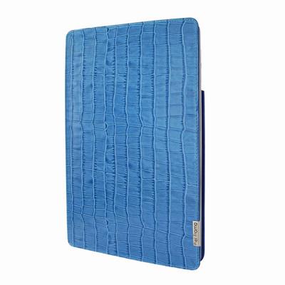 Piel Frama iPad Air 2019 | iPad 10.2 2019 FramaSlim Leather Case - Blue Crocodile