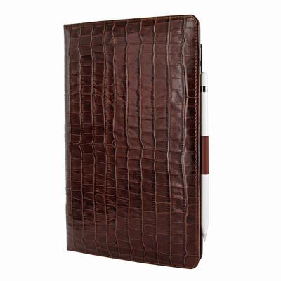 Piel Frama iPad Air 2019 | iPad 10.2 2019 Cinema Leather Case - Brown Crocodile