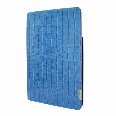 Piel Frama iPad Pro 10.5 FramaSlim Leather Case - Blue Cowskin-Crocodile
