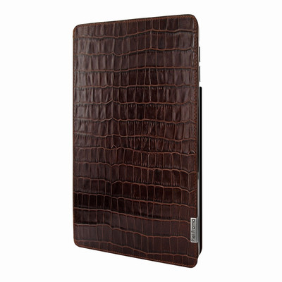 Piel Frama iPad Pro 10.5 FramaSlim Leather Case - Brown Cowskin-Crocodile