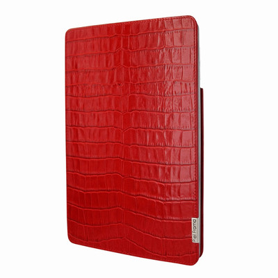 Piel Frama iPad Pro 10.5 FramaSlim Leather Case - Red Cowskin-Crocodile