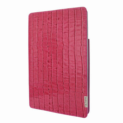 Piel Frama iPad Pro 12.9 2017 FramaSlim Leather Case - Fuchsia Cowskin-Crocodile