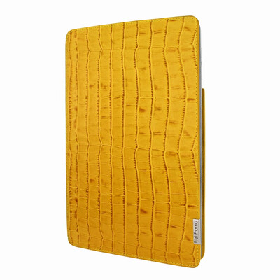 Piel Frama iPad Pro 12.9 2017 FramaSlim Leather Case - Yellow Cowskin-Crocodile