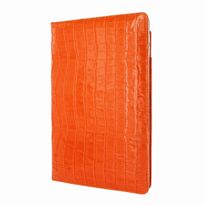 Piel Frama iPad Pro 12.9 2017 Cinema Leather Case - Orange Cowskin-Crocodile