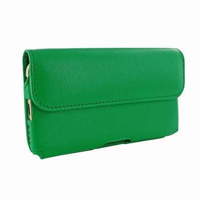 Piel Frama iPhone 6 / 6S / 7 / 8 Horizontal Pouch Leather Case - Green