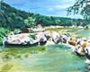 Barton Creek Greenbelt at Sculpture Falls (PRINT)
