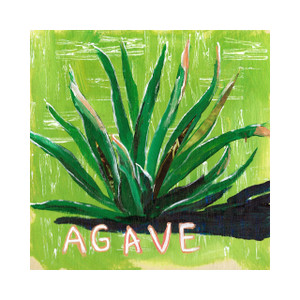 """Agave in Greens"" by Jamie Billman McCormick"