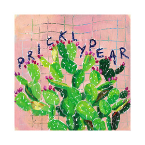 Plant Prints - Set of 3  (Prickly Pear in Pink)