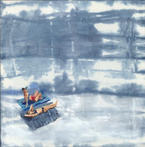 Noon-ish (Shibori Collection) - PRINT