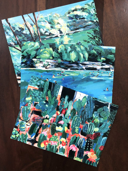 Assorted Art Cards (Set of 3)