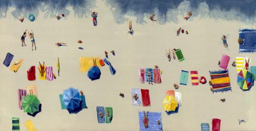 Beach Daze (Shibori Collection) - PRINT