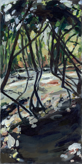 """Wild Basin Trees, Winter"" by Jamie Billman McCormick"