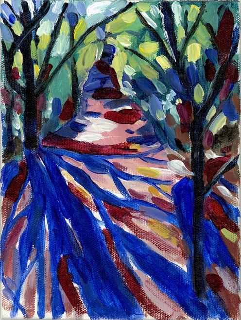 """Ultramarine Shadows"" by Jamie Billman McCormick"