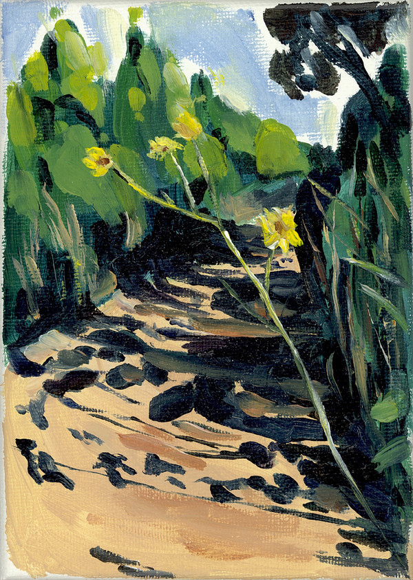 """Caution Flowers"" by Jamie Billman McCormick"