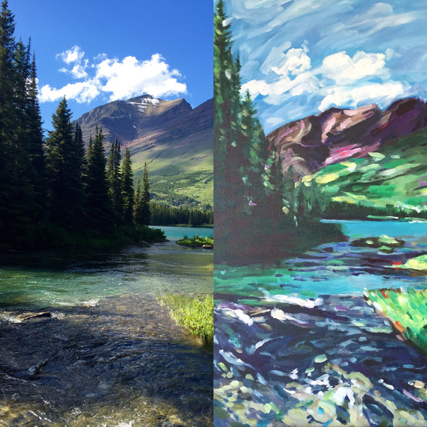 Commissioning a landscape