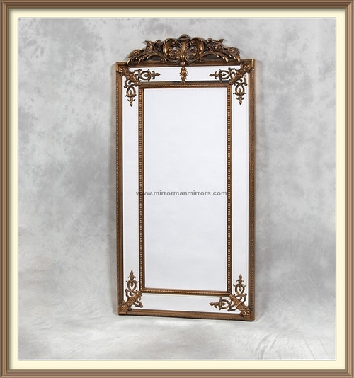 THE TALL GOLD PARISIAN MIRROR