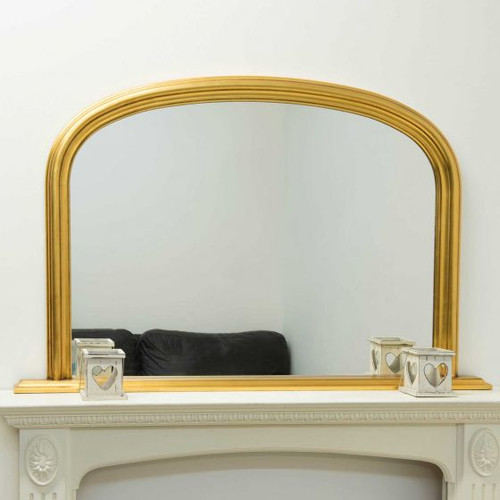 THE GOLD CLASSIC OVERMANTLE MIRROR