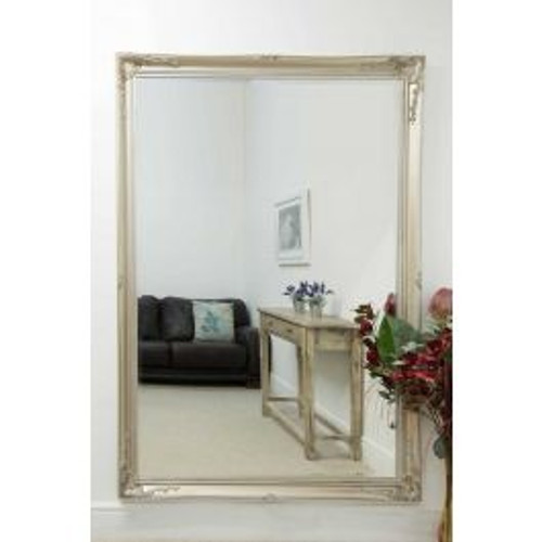 THE LARGE SILVER KNIGHTSBRIDE MIRROR