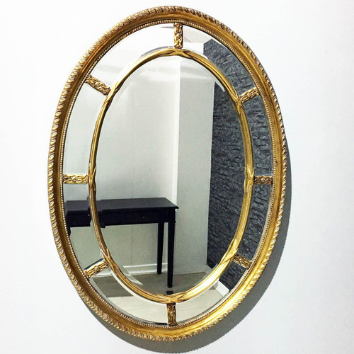 THE GOLD OVAL POSIEDON MIRROR