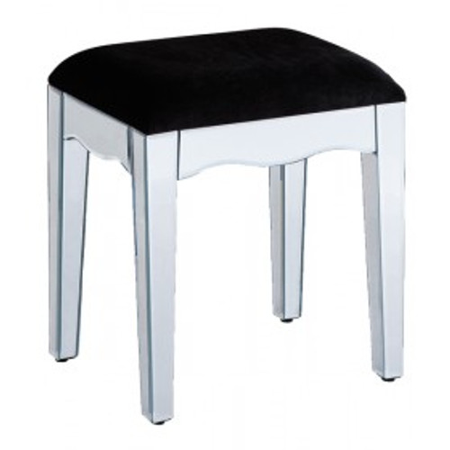 THE CLEAR MIRRORED STOOL
