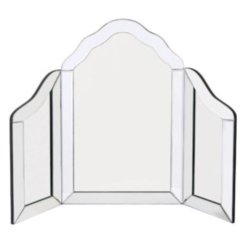 THE CLEAR RICHMOND THREE FOLD MIRROR