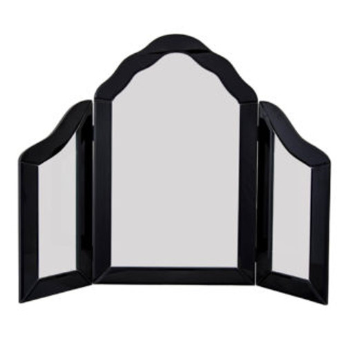 THE BLACK RICHMOND THREE FOLD MIRROR