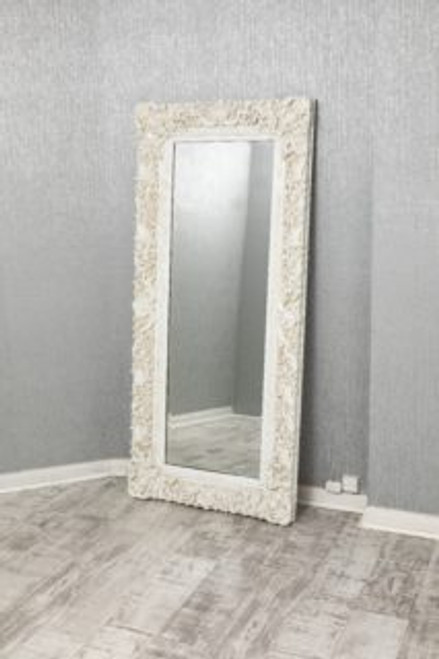 THE WHITE FRAMED MARLOW MIRROR