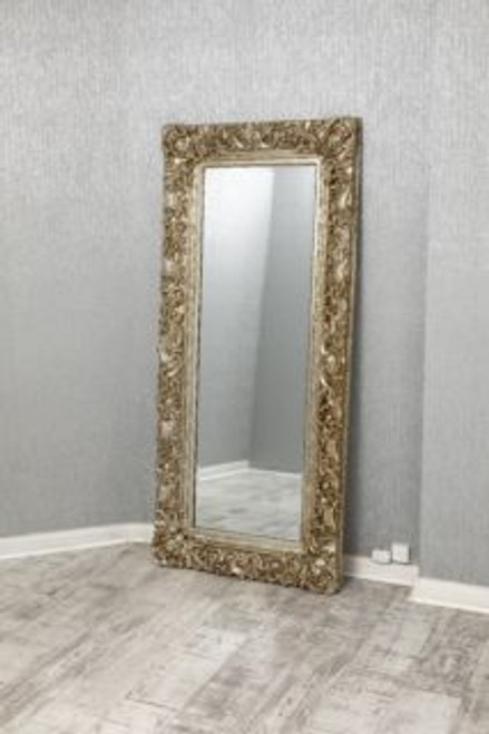 THE SILVER FRAMED MARLOW MIRROR