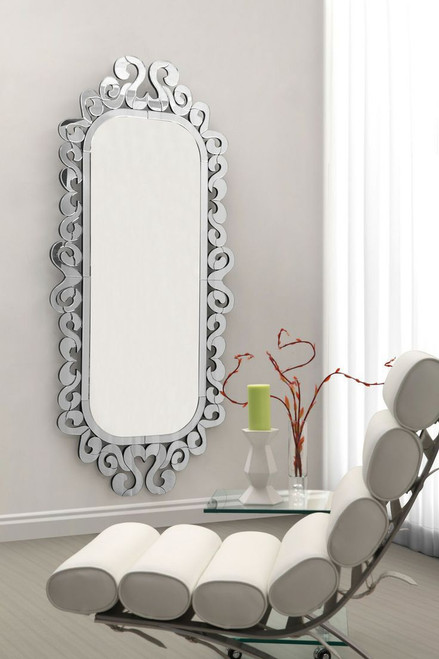 THE VENETIAN SCROLL MIRROR
