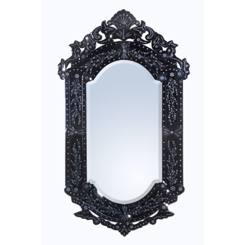 THE BLACK VENETIAN MIRROR