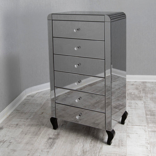 THE SMOKED REFLECTION TALLBOY CHEST