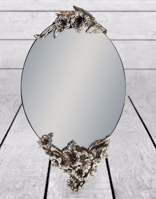 THE ROSEBERRY OVAL MIRROR