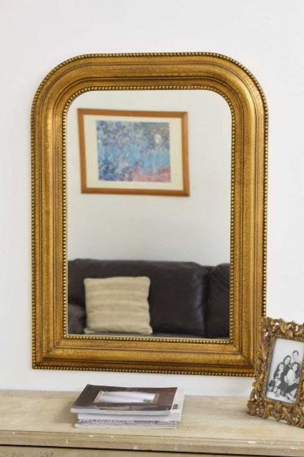 THE GOLD WENTWORTH MIRROR