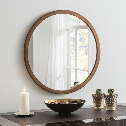 THE BRONZE CIRCULAR GENEVA MIRROR