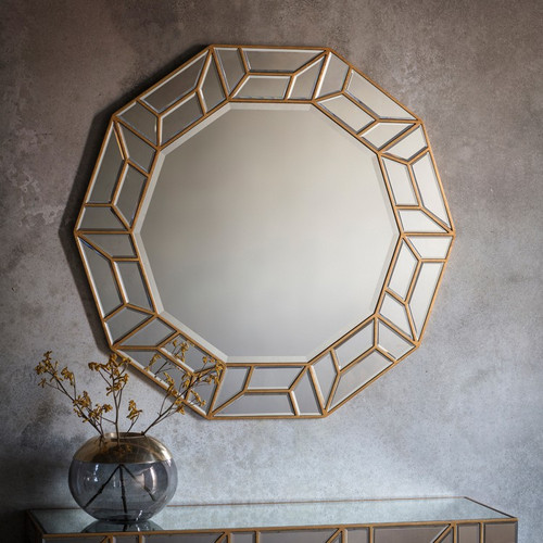 THE GOLD OCTOGAN CHESHAM MIRROR