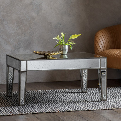 THE FLORENCE ANTIQUED COFFEE TABLE