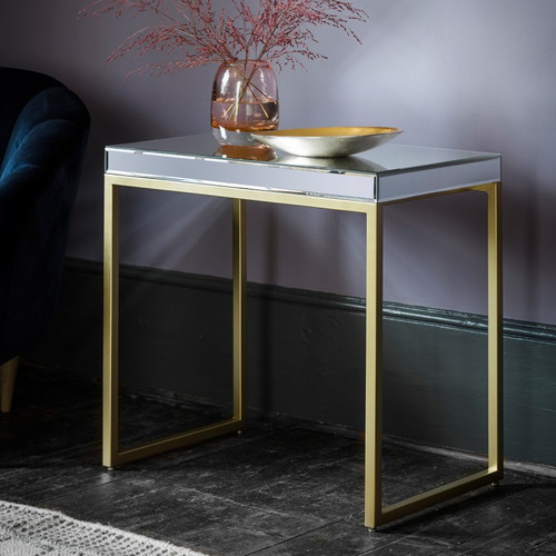 THE DALLAS GOLD SIDE TABLE